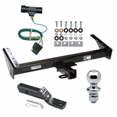 """Trailer Tow Hitch For 73-84 Chevy GMC Suburban C10 C15 C1500 C20 C25 C2500 K10 K15 K1500 K20 K25 K2500 Complete Package w/ Wiring and 1-7/8"""" Ball"""