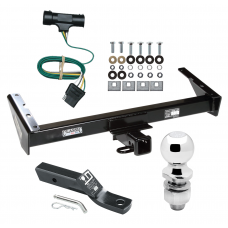 """Trailer Tow Hitch For 73-84 Chevy GMC Suburban C10 C15 C1500 C20 C25 C2500 K10 K15 K1500 K20 K25 K2500 Complete Package w/ Wiring and 2"""" Ball"""