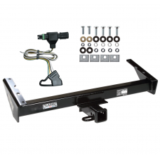 Trailer Tow Hitch For 85-91 Chevy GMC Suburban C10 C1500 C20 C2500 K10 K1500 K20 K2500 R10 R1500 R20 R2500 V10 V1500 V20 V2500 w/ Wiring Harness Kit