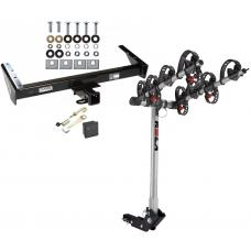 Trailer Tow Hitch For 73-91 Chevy GMC Suburban C/K R/V 10 20 1500 2500 4 Bike Rack w/ Hitch Lock and Cover
