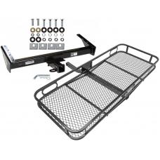 Trailer Tow Hitch For 73-91 Chevy GMC Suburban C/K R/V 10 20 1500 2500 Basket Cargo Carrier Platform w/ Hitch Pin