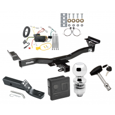 """Trailer Tow Hitch For 07-12 Mazda CX-7 Deluxe Package Wiring 2"""" Ball and Lock"""