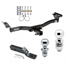 """Trailer Tow Hitch For 07-12 Mazda CX-7 Receiver w/ 1-7/8"""" and 2"""" Ball"""