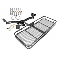 Trailer Tow Hitch For 07-12 Mazda CX-7 Basket Cargo Carrier Platform Hitch Lock and Cover