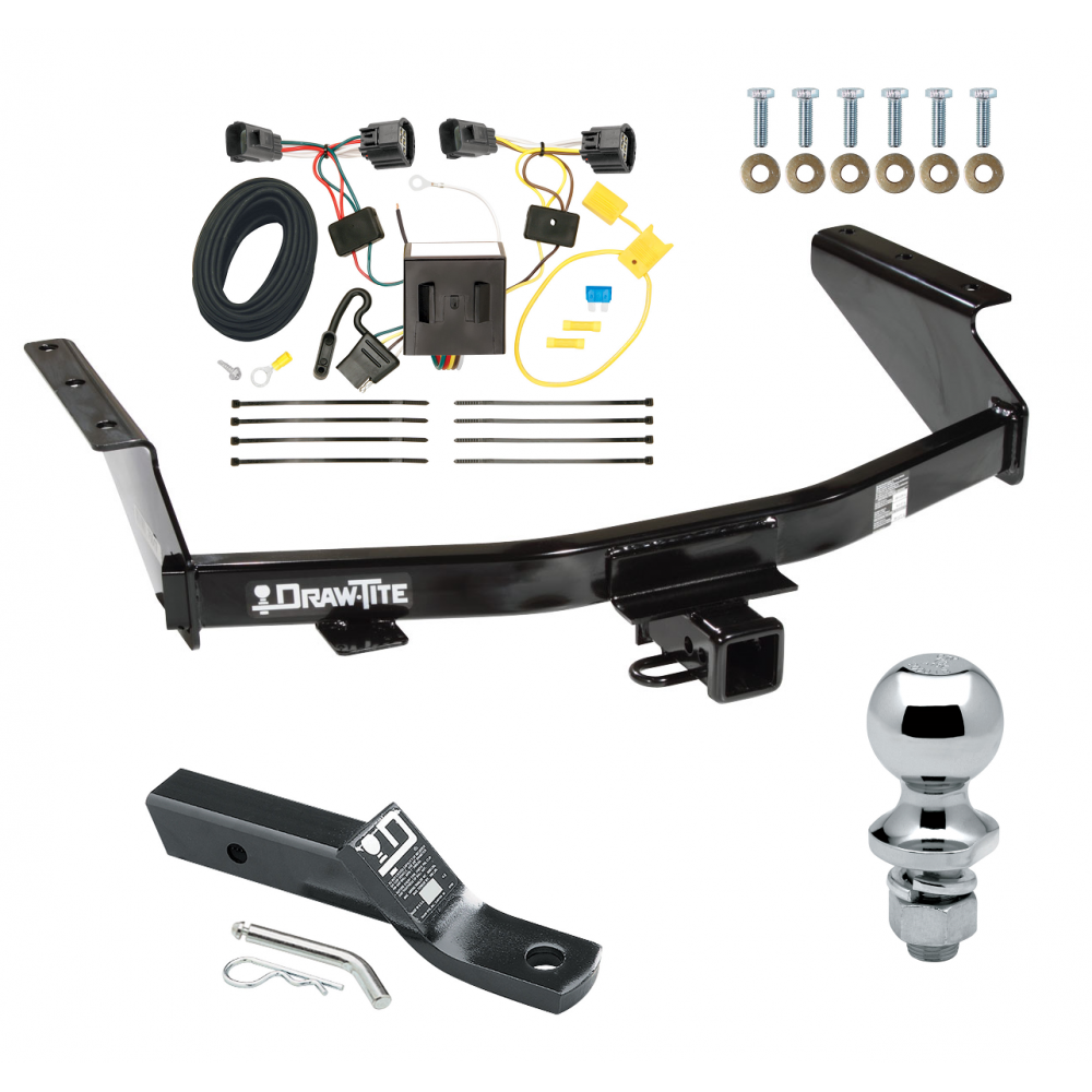 Trailer Tow Hitch For 07 11 Dodge Nitro Complete Package