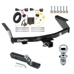 """Trailer Tow Hitch For 07-11 Dodge Nitro Complete Package w/ Wiring and 1-7/8"""" Ball"""