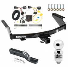 """Trailer Tow Hitch For 07-11 Dodge Nitro Complete Package w/ Wiring and 2"""" Ball"""