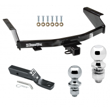 """Trailer Tow Hitch For 07-11 Dodge Nitro Receiver w/ 1-7/8"""" and 2"""" Ball"""