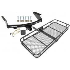 Trailer Tow Hitch For 07-11 Dodge Nitro Basket Cargo Carrier Platform Hitch Lock and Cover