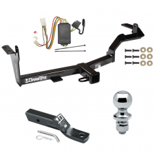 "Trailer Tow Hitch For 06-08 Mitsubishi Endeavor Complete Package w/ Wiring and 1-7/8"" Ball"
