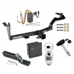 """Trailer Tow Hitch For 06-08 Mitsubishi Endeavor Deluxe Package Wiring 2"""" Ball and Lock"""