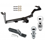 """Trailer Tow Hitch For 06-08 Mitsubishi Endeavor Receiver w/ 1-7/8"""" and 2"""" Ball"""