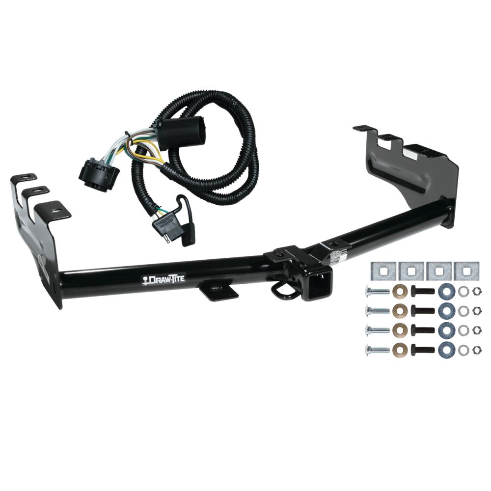 [DIAGRAM_38ZD]  Trailer Tow Hitch For 99-13 Chevy Silverado GMC Sierra 1500 w/ Wiring  Harness Kit | 2013 Gmc Sierra Trailer Wiring |  | TrailerJacks.com