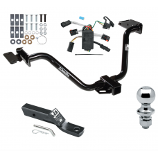 """Trailer Tow Hitch For 04-08 Chrysler Pacifica Complete Package w/ Wiring and 1-7/8"""" Ball"""