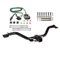 Trailer Tow Hitch For 13-17 Buick Enclave Chevy Traverse GMC Acadia w/ Wiring Harness Kit