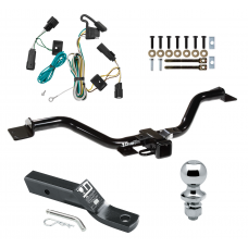 """Trailer Tow Hitch For 07-09 Saturn Outlook Complete Package w/ Wiring and 1-7/8"""" Ball"""