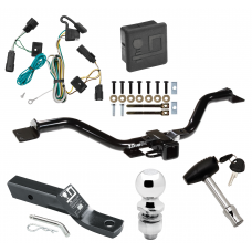 """Trailer Tow Hitch For 07-09 Saturn Outlook Deluxe Package Wiring 2"""" Ball and Lock"""