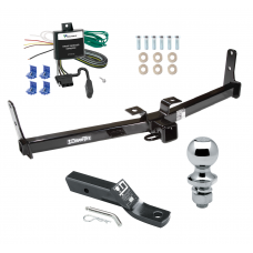 """Trailer Tow Hitch For 07-09 Suzuki XL-7 Complete Package w/ Wiring and 1-7/8"""" Ball"""