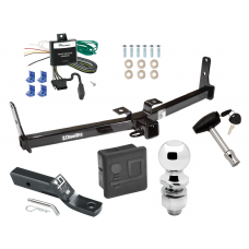 """Trailer Tow Hitch For 07-09 Suzuki XL-7 Deluxe Package Wiring 2"""" Ball and Lock"""