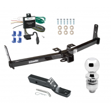 """Trailer Tow Hitch For 07-09 Suzuki XL-7 Complete Package w/ Wiring and 2"""" Ball"""