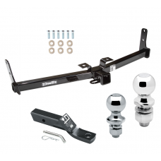 """Trailer Tow Hitch For 07-09 Suzuki XL-7 Receiver w/ 1-7/8"""" and 2"""" Ball"""