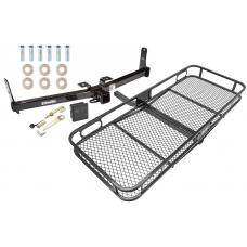 Trailer Tow Hitch For 07-09 Suzuki XL-7 Basket Cargo Carrier Platform Hitch Lock and Cover