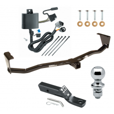"Trailer Tow Hitch For 07-12 Hyundai Veracruz Complete Package w/ Wiring and 1-7/8"" Ball"
