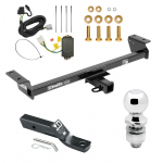 """Trailer Tow Hitch For 16-18 Lexus RX350 RX450h Complete Package w/ Wiring and 2"""" Ball"""