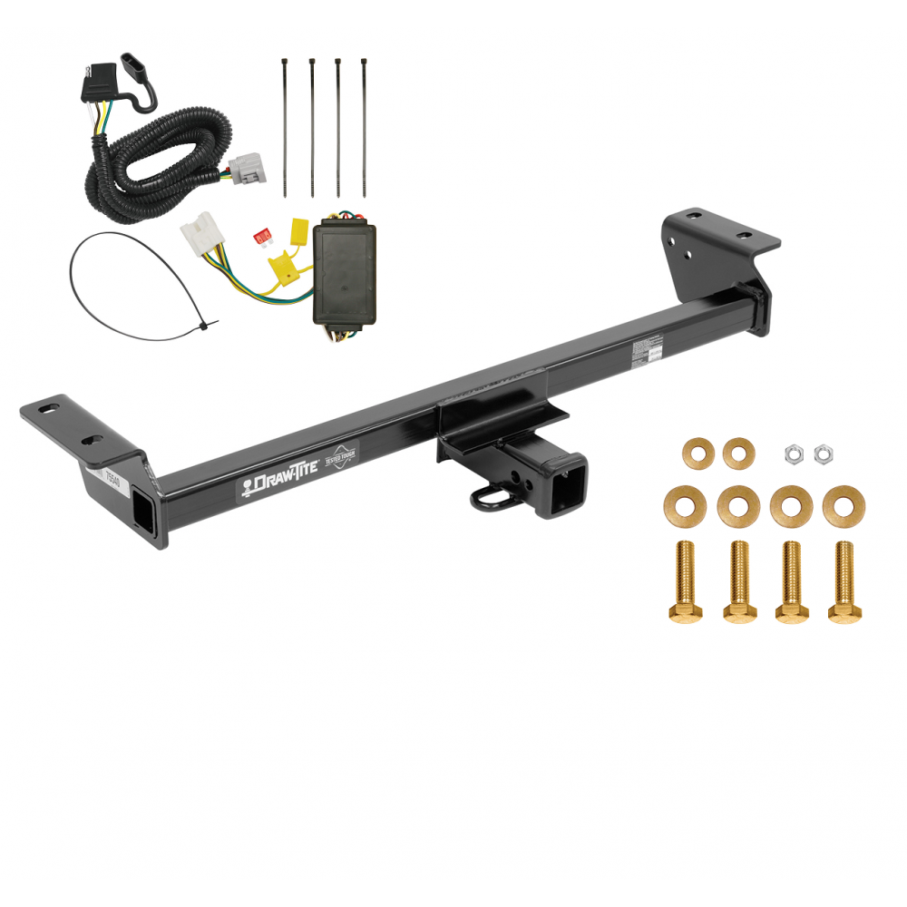 Trailer Tow Hitch For 16-18 Lexus RX350 RX450h W/ Wiring