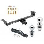 """Trailer Tow Hitch For 16-18 Lexus RX350 RX450h Receiver w/ 1-7/8"""" and 2"""" Ball"""