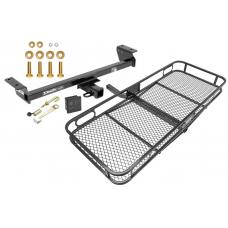 Trailer Tow Hitch For 16-18 Lexus RX350 RX450h Basket Cargo Carrier Platform Hitch Lock and Cover