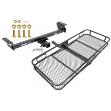 Trailer Tow Hitch For 16-18 Lexus RX350 RX450h Basket Cargo Carrier Platform w/ Hitch Pin