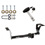 Trailer Tow Hitch For 2007-2011 Honda CR-V w/ Security Lock Pin Key