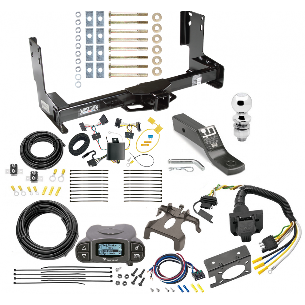 Trailer Hitch And Brake Control Kit For 07