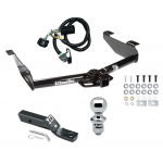 """Trailer Tow Hitch For 07-10 Chevy Silverado GMC Sierra 2500 3500 HD Complete Package w/ Wiring and 1-7/8"""" Ball"""