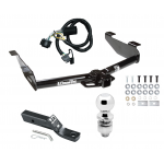 """Trailer Tow Hitch For 07-10 Chevy Silverado GMC Sierra 2500 3500 HD Complete Package w/ Wiring and 2"""" Ball"""