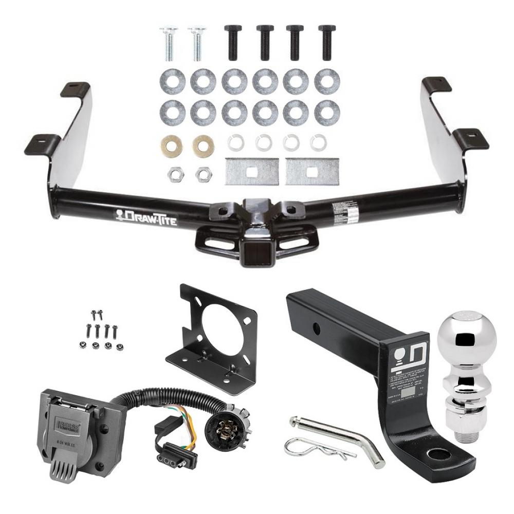 Trailer Hitch Package W   Wiring For 01  2 16 U0026quot  Ball 4