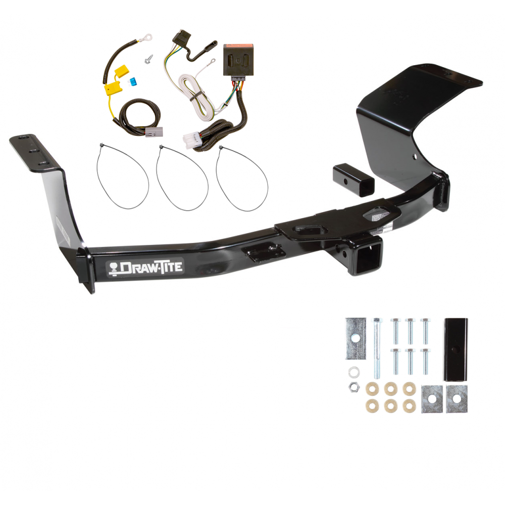 trailer tow hitch for 07 13 mitsubishi outlander w wiring. Black Bedroom Furniture Sets. Home Design Ideas