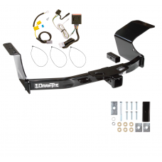 Trailer Tow Hitch For 07-13 Mitsubishi Outlander w/ Wiring Harness Kit