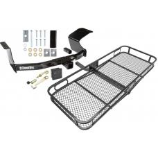Trailer Tow Hitch For 07-13 Mitsubishi Outlander Basket Cargo Carrier Platform Hitch Lock and Cover
