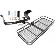 Trailer Tow Hitch For 07-13 Mitsubishi Outlander Basket Cargo Carrier Platform w/ Hitch Pin