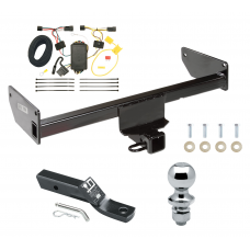 "Trailer Tow Hitch For 12-15 Chevy Captiva Sport 08-09 Saturn Vue Complete Package w/ Wiring and 1-7/8"" Ball"