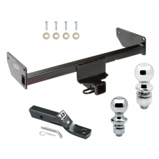 "Trailer Tow Hitch For 12-15 Chevy Captiva Sport 08-09 Saturn Vue Receiver w/ 1-7/8"" and 2"" Ball"