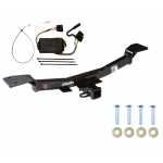 Trailer Tow Hitch For 05-10 KIA Sportage 6 Cyl w/ Wiring Harness Kit
