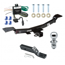"Trailer Tow Hitch For 05-10 KIA Sportage 4 Cyl Complete Package w/ Wiring and 1-7/8"" Ball"
