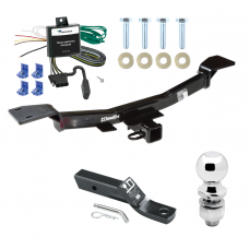 "Trailer Tow Hitch For 05-10 KIA Sportage 4 Cyl Complete Package w/ Wiring and 2"" Ball"