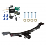 Trailer Tow Hitch For 05-10 KIA Sportage 4 Cyl w/ Wiring Harness Kit