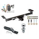 """Trailer Tow Hitch For 07-09 Acura RDX Complete Package w/ Wiring and 1-7/8"""" Ball"""