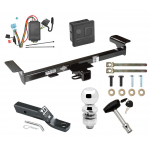 """Trailer Tow Hitch For 07-09 Acura RDX Deluxe Package Wiring 2"""" Ball and Lock"""
