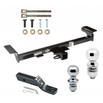 """Trailer Tow Hitch For 07-09 Acura RDX Receiver w/ 1-7/8"""" and 2"""" Ball"""